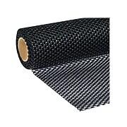 """Duck Super Grip EasyLiner with Clorox Plastic Shelf Liner, 20"""", Black (284150)"""