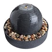 Homedics Gray Mirra Cascade Tabletop Relaxation Fountain (WFL-510SO)