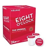 Eight O'Clock Original Blend Coffee, Keurig® K-Cup® Pods, Medium Roast, 24/Box (6405)