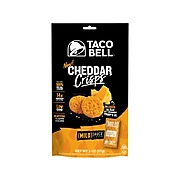 Taco Bell Cheddar Crisps, Mild Sauce, 2 oz., 9/Box (43816)