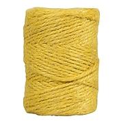 JAM Paper Kraft Twine, 1/8 Inch x 54 Yards, Yellow (267820981)