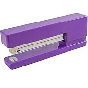 JAM Paper Modern Desktop Stapler, 10 Sheet Capacity, Purple (337PUZ)