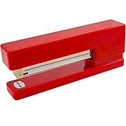 JAM Paper Modern Desktop Stapler, 10 Sheet Capacity, Red (337REZ)