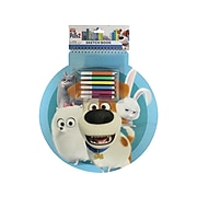"Inkology Secret Life of Pets 2 Jumbo 12"" x 15.5"" Sketch Book, 50 Sheets (338-0)"