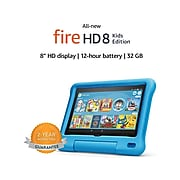 "Amazon Fire HD 8 Kids Edition 8"" Tablet, 10th Generation, Wi-Fi, 32GB (Fire OS), Blue (B07WDDT3G5)"