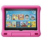 """Amazon Fire HD 8 Kids Edition 8"""" Tablet, 10th Generation, Wi-Fi, 32GB (Fire OS), Pink (B07WJS3QDX)"""