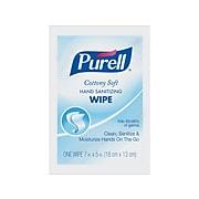 Purell Cottony Soft Antibacterial Hand Sanitizing Wipes, 1000/Carton (9026-1M)
