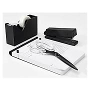 Russell+Hazel Noire Desktop Stapler, 15-Sheet, Matte Black (40461)
