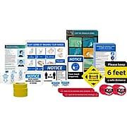 National Marker Back to Work Signage Kit, Medium (BWK02)