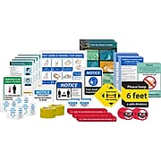 National Marker Back to Work Signage Kit, Small (BWK03)