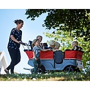 Winther Turtle Kiddy Bus 6-Seater Wagon, Red/Grey/Black/Blue, 0-3 Years (WIN80150)
