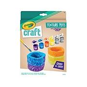 Crayola Texture Pots Craft Kit, 5-6 Years (57-0191)