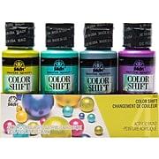 FolkArt Color Shift Non Washable Acrylic Paint Set, Assorted Colors, 2 Fl. Oz., 4/Pack (7501)