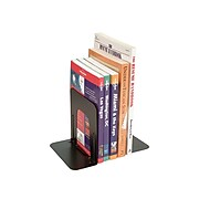 """Officemate 4.75"""" Steel Bookend, Black, 2/Pack (OIC93001)"""