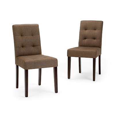Simpli Home Andover Dining Chairs (AXCDCHR-004-BRL)