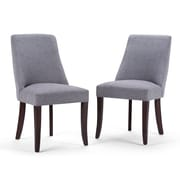 Simpli Home Walden Deluxe Dining Chairs (AXCDCHR-007-G)