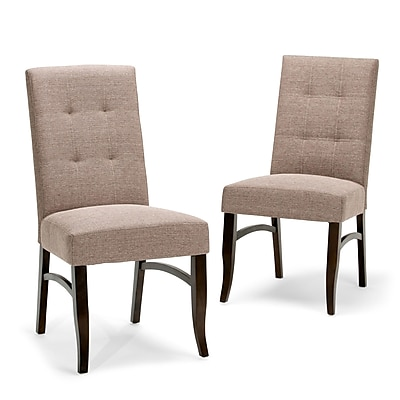 Simpli Home Ezra Deluxe Dining Chairs (AXCDCHR-003-BRL)