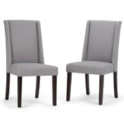 Simpli Home Sotherby Deluxe Dining Chairs (AXCDCHR-002-DGL)