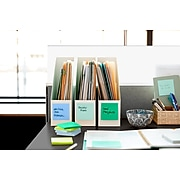 """Post-it® Super Sticky Notes, 3"""" x 3"""", Assorted Colors, 20 Pads/Pack, 90 Sheets/Pad (654-20SSALLDEC)"""