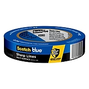 "ScotchBlue Sharp Lines 0.94"" x 60 yd. Medium Painter's Tape (2093-24EC)"