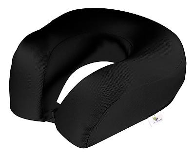 Travergo Memory Foam Perforated Spandex Neck Pillow,