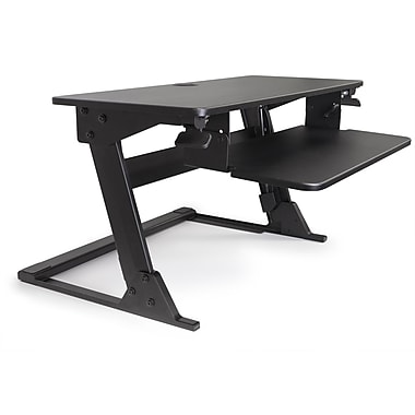 Alba Move HOP Sit to Stand Adjustable Desk Rise, 32
