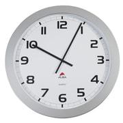 "ALBA 23.6"" Giant Wall Clock with Quartz Mechanism, Grey (HORGIANT)"