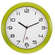 """ALBA 12"""" Silent Wall Clock with Quartz Mechanism, Green (HORNEWV)"""