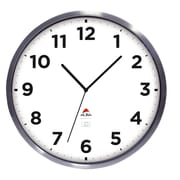 "ALBA 14"" Outdoor Wall Clock with Stainless Steel Frame (HOREXTRA)"