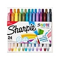 Sharpie S-Note Creative Marker, Chisel Tip, Assorted, 24/Pack (2117330)