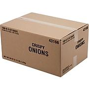 Fresh Gourmet Crispy Onions, Lightly Salted, 50 oz., 100/Box (43166)