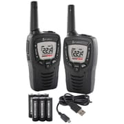 Cobra 25-Mile 2-Way Radios (CXT331), 2 pk, Black