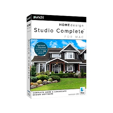 Punch! Home Design Studio Complete Version 20 for Mac OS X, 1 User [Download]