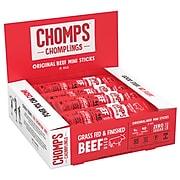 Chomps Beef, Original, Snack Sticks, 24/Box (ZHO00480)