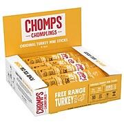 Chomps Turkey, Original, Snack Sticks, 24/Box  (ZHO00482)