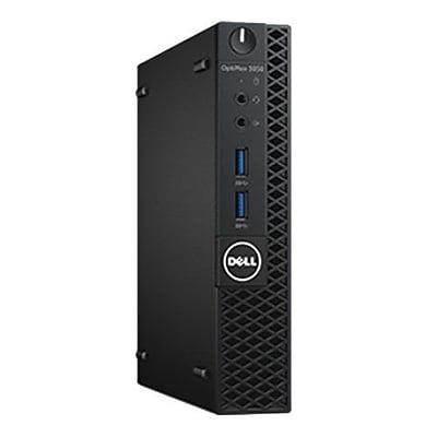 Dell™ OptiPlex V7T42 5050 Intel Core i5-7500T 500GB HDD 8GB RAM Windows 10 Pro MFF Desktop Computer