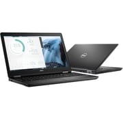 "Dell™ Latitude VGY82 5580 15.6"" Laptop, LCD, Core i5-7200U, 256GB SSD, 8GB RAM, WIN 10 Pro, Black"