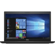 "Dell™ Latitude V4JHF 7480 14"" Laptop, LCD, Core i7-7600U, 256GB SSD, 8GB RAM, WIN 10 Pro, Black"