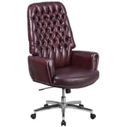 Flash Furniture High Back Traditional Tufted Leather Executive Swivel Chair with Arms (BT444BY)