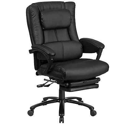 Flash Furniture High Back Leather Executive Reclining Swivel Chair with Lumbar Support (BT90527H)