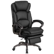Flash Furniture High Back Leather Executive Reclining Swivel Chair with Arms (BT90279H)