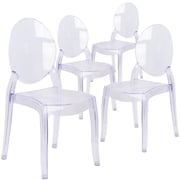 Flash Furniture Large Size Ghost Chair 4/ Pack