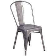 Flash Furniture Metal Indoor Stackable Chair (XUDGTP001)