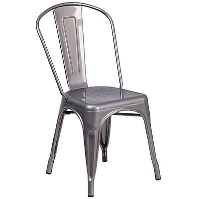 Flash Furniture Metal Indoor Stackable Chair (XUDGTP001)