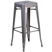 Flash Furniture 30'' High Backless Metal Indoor Barstool with Square Seat (XUDGTP000430)