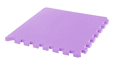 IRIS® 18.3 x 18.3 Inch Thick Joint Mat, 4-pack, Purple