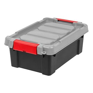 IRIS® Store-It-All Tote 3 Gallon, 6 Pack, Black