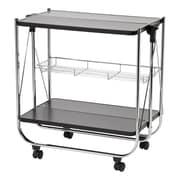 IRIS® Foldable Serving Cart, Black