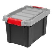 IRIS® Store-It-All Tote 5 Gallon, 4 Pack, Black