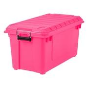 IRIS® 82 Quart Weathertight Store-It-All Tote, Pink, 4 Pack